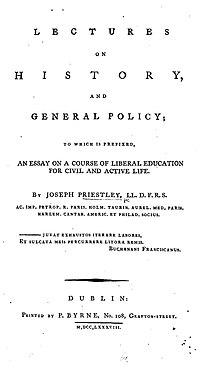 Lectures on History and General Policy cover