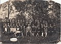 Primary school pupils with a teacher Bački Petrovac photo.jpg
