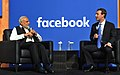 Prime Minister Narendra Modi and the Facebook Chairman and CEO Mark Zuckerberg at Facebook HQ.jpg