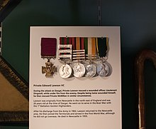 Medals displayed at Gordon Highlanders Museum.