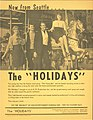 Promo for band The Holidays, circa 1960s (38552261782).jpg
