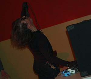 Dominick Fernow - Dominick Fernow performing as Prurient in 2007