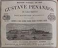 Publicité Gustave Penanros 1882.jpg