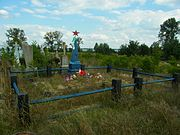Pulemets Shatskyi Volynska-grave of unknown soviet warriors-general view.jpg