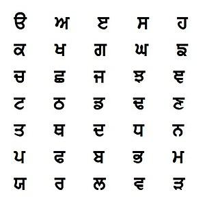 Guru Angad - Gurmukhi script (partial)