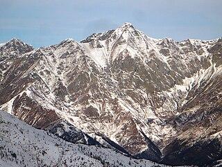 Punta Cornour Mountain in Italy