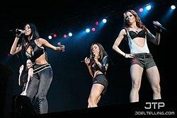 6899d419cf2b Las Pussycat Dolls durante una actuación en Washington.