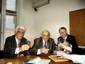 Boris Chertok - Boris Chertok (middle) in 2005