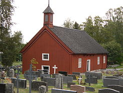 Pyhämaa old church.jpg