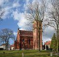 Pyskowice (Peiskretscham) - Saints Peter and Paul church.JPG