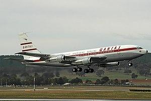 Qantas Foundation Memorial Boeing 707-138B CBR Gilbert.jpg