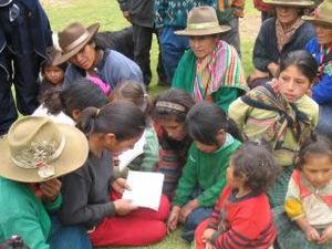 Indigenous peoples in Peru - Quechua people in Conchucos District, Peru