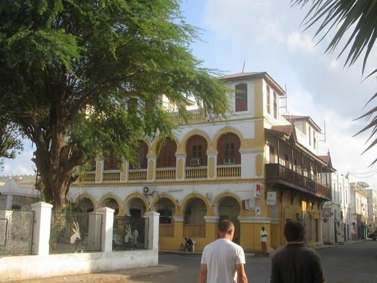 Quartier européen à Djibouti