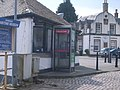 Quayside phone box at Inveraray - geograph.org.uk - 762776.jpg