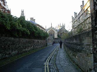 Queen's Lane - View of Queen's Lane, Oxford.