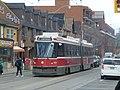 Queen streetcars heading west towards Sumach, 2014 04 26 -d.jpg