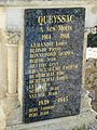 Queyssac monument aux morts plaque.JPG
