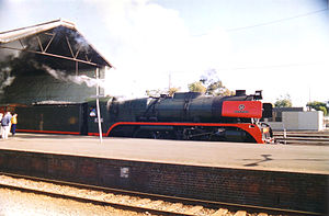 Hunter Valley Railway Trust - Image: R766 Geelong 1993