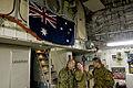 RAAF and JGSDF personel in a RAAF C-17.JPG