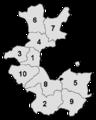 RB Minden 1832-1878 Kreiseinteilung nummeriert.png