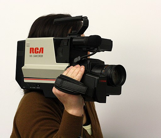RCA VHS shoulder-mount Camcorder
