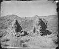 RUINS IN ANCIENT PUEBLO OF SAN JUAN, COLORADO, SHOWING WALLS OF ROOM IN THIRD STORY - NARA - 524313.tif
