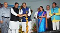 Radha Mohan Singh and the Minister of State for Petroleum and Natural Gas (Independent Charge), Shri Dharmendra Pradhan jointly inaugurating the World Coconut Day and National Award distribution function, at Bhubaneswar.jpg