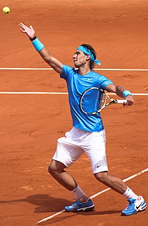 Rafael Nadal Spanish tennis player