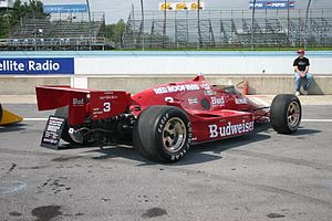 Adrian Newey - The March 86C chassis driven by Bobby Rahal won the 1986 Indianapolis 500 and the CART title