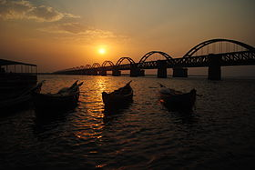 Rail-Road bridge Godavari.JPG