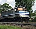 Rail World EMD-F40PH 274 in Belmont Center, 7.02.2015.jpg
