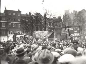 Rally in Hyde Park during the General Strike of 1926