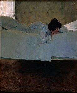 Ramon Casas - Laziness - Google Art Project.jpg