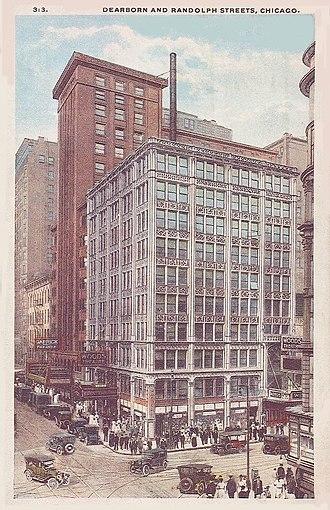 Woods Theatre - Woods Theatre in 1922