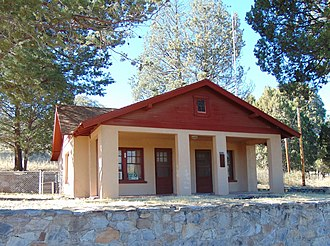 National Register of Historic Places listings in Santa Cruz County, Arizona - Image: Ranger Station Office Canelo Arizona 2015