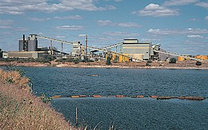 Uranium mining debate -  Ranger Uranium Mine in Kakadu National Park.