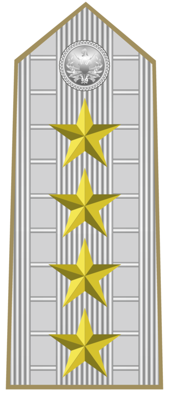 Marshal of Italy - Insignia for the shoulder of the rank of Marshal of Italy (1945-1947).