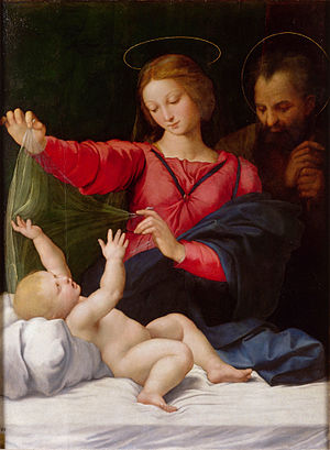 Madonna of Loreto (Raphael) - Image: Raphaël La Madone de Lorette Google Art Project