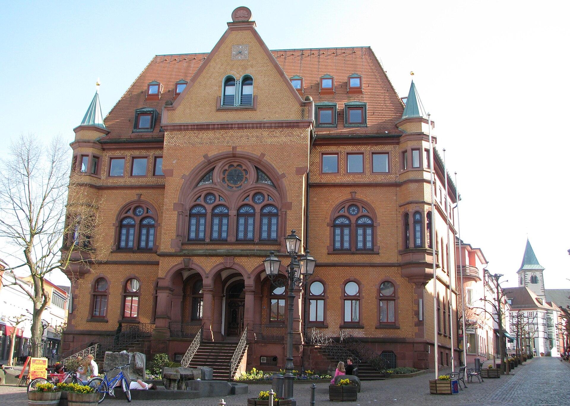 Rathaus Hünfeld 2009