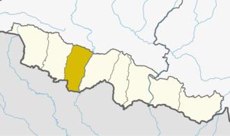 Rautahat District - Location of Rautahat