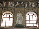 Ravenna, sant'apollinare nuovo, int., santi e profeti, epoca di teodorico 19.JPG