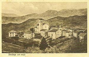 Srednje - 1915 postcards of Srednje