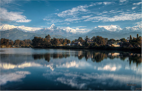Reflection in fewa lake.jpg