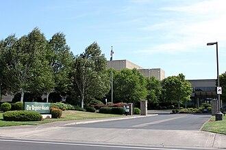 The Register-Guard - Company headquarters entrance