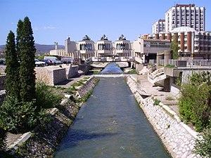 Raška (river) - Raška river in Novi Pazar