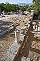 Remains of the southeast stoa in the Ancient Agora on September 27, 2020.jpg