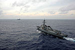 Republic of Korea destroyer Seoae Ryu Sungyong, RIMPAC 2014 140714-N-UN830-169.jpg