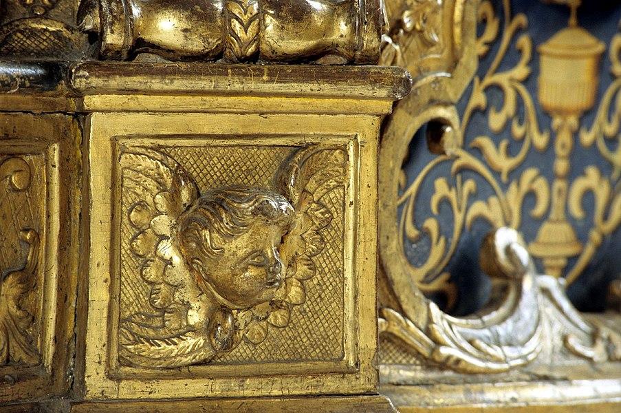 Original description on Flickr page: Détail du retable eglise de Baume les Dames.