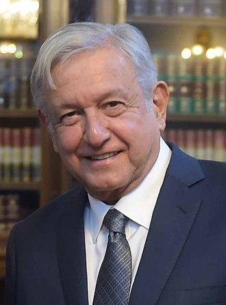 President of Mexico - Image: Reunión con el Presidente Electo, Andrés Manuel López Obrador 8 (cropped)