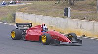 Reynard 92D Formula Holden driven by Bill Norman